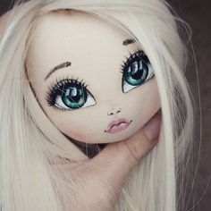 How to Draw a Nose, Step by Step Tutorial! Doll Face Paint, Doll Painting, Doll Making Tutorials, Fabric Toys, Doll Eyes, Sewing Dolls, Doll Repaint, Pretty Dolls, Soft Dolls
