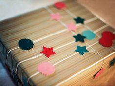 как красиво украсить коробку 12