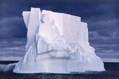 size: Photographic Print: Iceberg Floating In the Ross Sea, Antarctica by Doug Allan : Artists Spring Landscape, Beach Landscape, Ice Art, Winter Scenery, Blank Walls, Antarctica, Photographic Prints, Sea, Safari