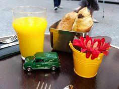 Breakfast at a Parisienne cafe #WeeEwen #McEwens