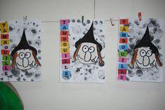 Ecole Maternelle Vitteaux: Travail sur les sorcières et l'alimentation chez les moyens