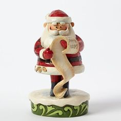 Jim Shore for Enesco Rudolph Traditions by Santa Personality Pose Figurine