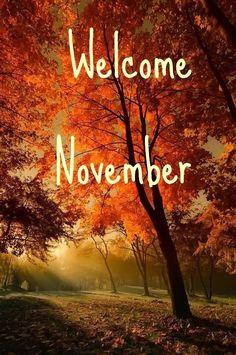 Welcome November Welcome November November Pictures, November Images, November Quotes, Hallo November, Welcome November, Hello September, November Calendar, November Month, New Month