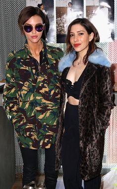Ruby Rose and Jessica Origliasso from Oscars 2017: Party Pics  The Orange Is the New Black star and her partner attend Kari Feinstein's Pre-Oscar Style Lounge at the Andaz Hotel in West Hollywood.