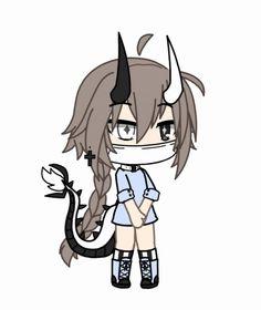 Anime Girl Drawings, Kawaii Drawings, Art Drawings Sketches, Cute Drawings, Cute Characters, Cute Anime Character, Character Drawing, Anime Characters, Cute Anime Chibi
