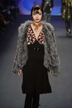 ModMods - Joie A/W '14 Review - NYFW Show Report - Anna Sui autumn/winter '14