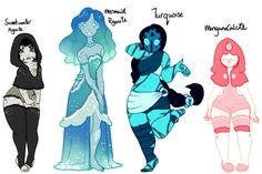 SweetWater Agate,Mermaid Agate,Turquoise Mangana Calcite by Steven Universe Fan Fusions, Steven Universe Oc, Steven Universe Characters, Universe Art, Drawing Tips, Drawing Reference, Art Folder, Fanart, Character Design Inspiration