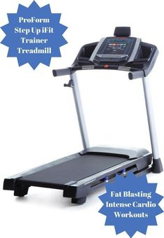 This ProForm Step Up iFit Trainer Treadmill provides super-charged cardio workouts and fat-blasting, full-body improvement that is literally at your fingertips with this treadmill #ad #health #fitness #exercise #ProForm #treadmill