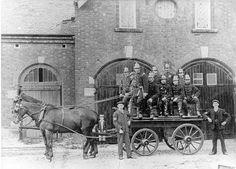 Rugeley Fire Brigade. Date: 1900 Description: In 1900 this volunteer ...