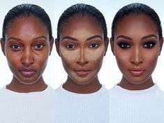 """ONLY ON #DressYourFaceLIVE.com: LEARN MY SECRETS TO THIS GORGEOUS EBONY GLAM! I'll be covering the following ✔️How to match foundation to deeper skin tones ✔️How to avoid ashy undertones and grey shadows ✔️""""Reverse"""" contouring • ✔️""""Baking"""" with powder ✔️Best highlight powders and colors • ✔️Hiding under-eye hollows & bags ✔️Eyebrow shading • ✔️Smokey eyes: which colors and palettes I recommend for darker skin • ✔️Best blush tones and lip tones for deep skin tones ✔️And so much more!!! •..."""
