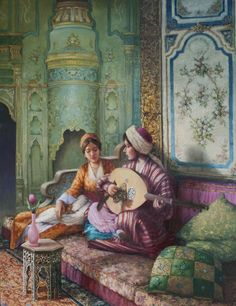 Marvels of Oriental. Empire Ottoman, Middle Eastern Art, Arabian Art, Exotic Art, Turkish Art, Art Plastique, Islamic Art, Fantasy Art, Art Drawings