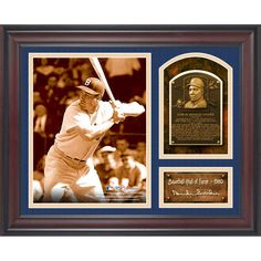 """Duke Snider Brooklyn Dodgers Fanatics Authentic Framed 15"""" x 17"""" Baseball Hall of Fame Collage with Facsimile Signature - $59.99"""