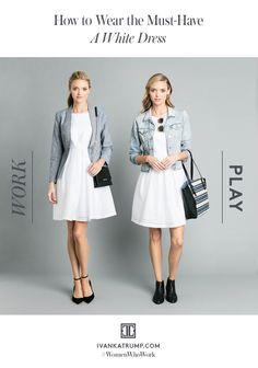 Make your wardrobe work overtime. #summerstyle #workwear #ITstyleguide