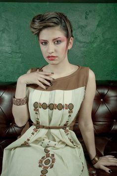 Who is Slavic Collection Design & Styling: Aida Korman Photo: Dado Veron Model: Naida Korman Make up: Adi Hasic Hair style: Sanin Nogo Styling assistant: Brankica Skundric Location: Club Podroom