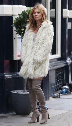 Kate Moss en cuissardes