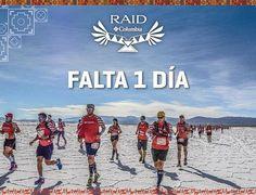 Está llegando el gran día. Largaremos mañana, 5 de mayo, a las 9hs en la Estación Chorrillos.  Recomendamos leer las 3 cartas del evento junto al reglamento, comunicados en el pág. web oficial de la carrera: www.RaidAndes.com. Así estarán informados de todos los detalles de la gran aventura que emprenderemos juntos.  #RAID #RaidColumbia2017 #RaidColumbia #Raid #Columbia #Salta #Jujuy #Trail #TrailRunning #PortalDeLosAndes #Tumbaya #Purmamarca #CerroDeLosSieteColores #Senderos #Montañas…