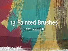 free-photoshop-painted-strokes-brushes