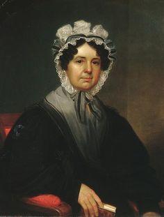 Mrs. Gideon Tucker William Sidney Mount  (American, Setauket, New York 1807–1868 Setauket, New York ) Date: 1830 Medium: Oil on canvas Dimensions: 34 1/8 x 27 in. (86.7 x 68.6 cm) Classification: Paintings
