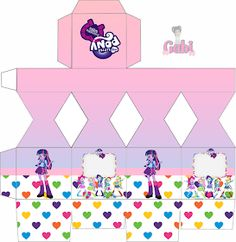 Kit Equestria Girls ( My Little Pony ) Equestria Girls, Festa Do My Little Pony, Princess Party, Minnie Mouse, Projects To Try, Kids, Crafts, Ponies, Printables