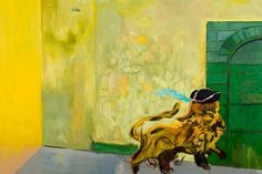 """Peter Doig """"Young Lion"""" 2015"""