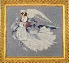 Angel of Winter by Lavender and Lace - Cross Stitch Kits & Patterns