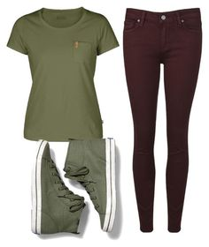 """""""Untitled #33"""" by whitepopsicle ❤ liked on Polyvore featuring Fjällräven and Keds"""