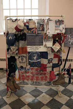 St. Paul's Chapel at Ground Zero, post-9/11 memories - it's free & a must-see if you're in the neighborhod.