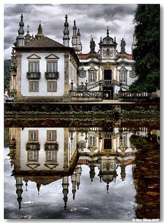 Mateus palace When I visited Portugal in 2008, toured this castle and grounds. Beautiful!!!