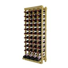 Winemaker Series Individual Bottle Kit - 4 Column Top Stack with Display Row (Tan), Wine Cellar Innovations Wine Rack Wall, Wine Racks, Wine Cellar Innovations, Off The Wall, Wine Storage, Memorable Gifts, In The Heights, How To Memorize Things, Moldings