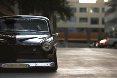 1966 Volvo 122 with air ride - StanceWorks