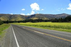 Nouvelle-Zélande Country Roads, Mountains, Nature, Travel, New Zealand, Photography, Voyage, Trips, Viajes