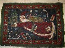 Susan Winget - Christmas Santa Tapestry Pillow Top Fabric Piece