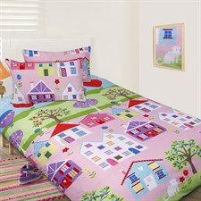 Multi Lovely House 7 Piece Bundle Set - Single Bed