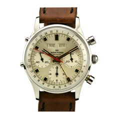 Wakmann Stainless Steel Gigandet Chronograph Wristwatch