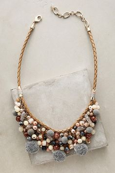 Pommed Bib Necklace