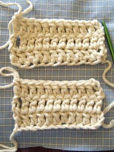 No foundation chain crochet... Greatest discovery ever! Creates less tension in your first row.