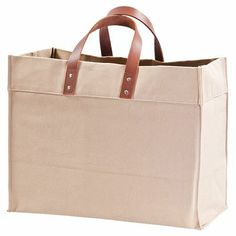 waxed canvas market grocery reusable shopping bags tote set of 4 ...