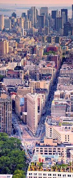 Flatiron Bldg. and Madison Square Park