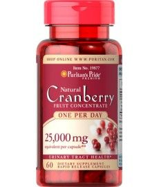 Puritans Pride One A Day Cranberry 25000 mg x 120 Capsules Urinary Tract Health Cranberry Powder, Cranberry Fruit, Herbalife Aloe, Daily Vitamins, Cranberries, Herbalism, Nutrition, Salud, Breads