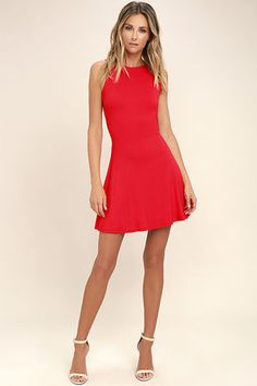 Skater Dresses! Find The Perfect Red 0aad2e03c
