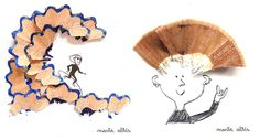 Playing with Pencil Shavings – Marta Altés