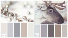 neutrale Farbpallette für Küche - Seidengrau, Creme, Braun