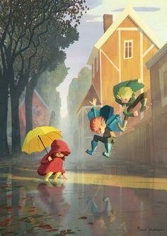 The Art Of Animation, Marcin Jakubowski Art And Illustration, Illustrations And Posters, Character Illustration, Animation, Aesthetic Art, Cute Art, Character Art, Illustrators, Concept Art