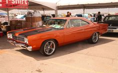Moparty At The Strip 1969 Plymouth Roadrunner JPG