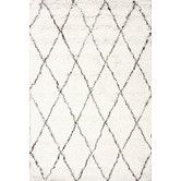 Found it at AllModern - Moderna Ivory Moroccan Shag Area Rug