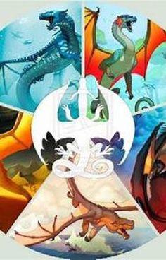 #wattpad #fantasy It's a Artbook for Wings of Fire and dragons . C'est un livre de dessins des Royaumes de Feu et de Dragons .