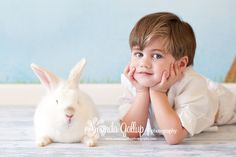 Easter Bunny Studio Pictures