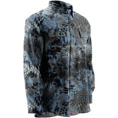Huk Men's Next Level Kryptek Long Sleeve Shirt Hunting Rain Gear, Camo Dress, Camo Outfits, Fish Man, Leather Cuffs, Leather Bracelets, Long Sleeve Shirts, Men Casual, Cowgirl Jewelry