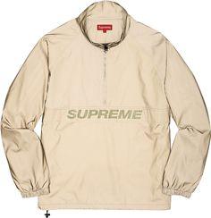 Supreme - Reflective Halfway-Zip Pullover