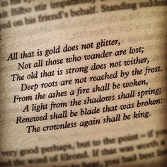 All that is Gold does not glitter....
